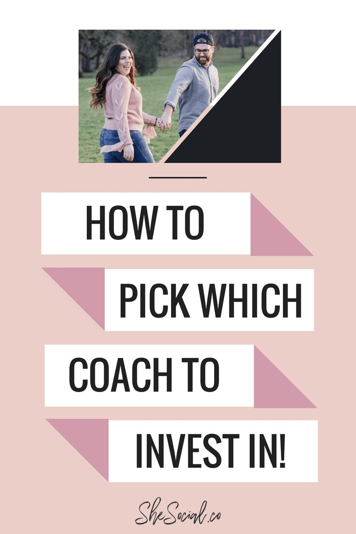 Investing in a coach is not only necessary in growing an online business, but it is vital if you want to scale! Here are my top tips on how to pick which coach to invest in!