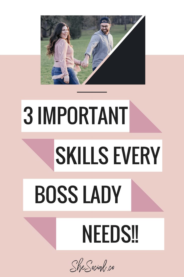 Running an online business can be hard AF! If you focus your boss lady efforts on mastering these business skills you will see an increase in your income, a spike in your online traffic and you will feel much happier as an online business owner, too! #entrepreneur #bosslady #onlinemarketing