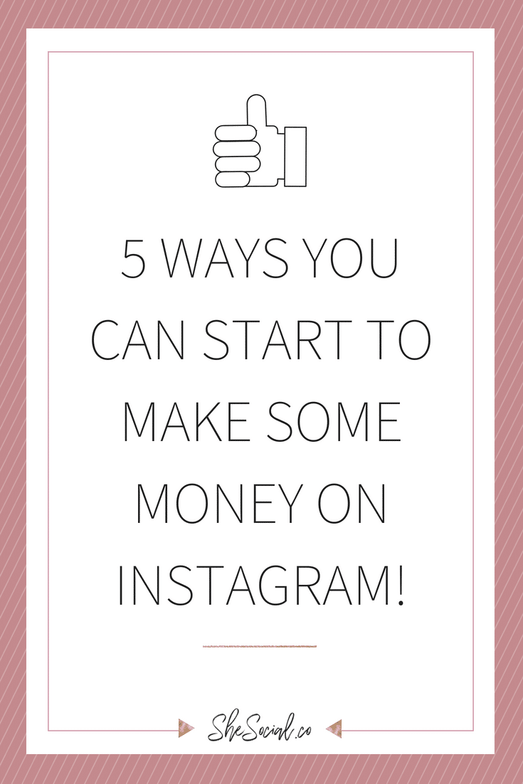 Five-things-making-money-instagram