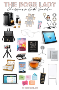 boss lady gift guide