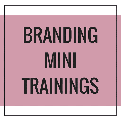 Branding Mini Trainings