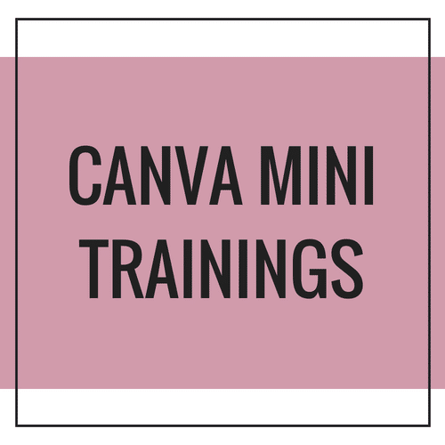 Canva Mini Trainings