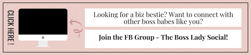 Boss Babe Facebook Group