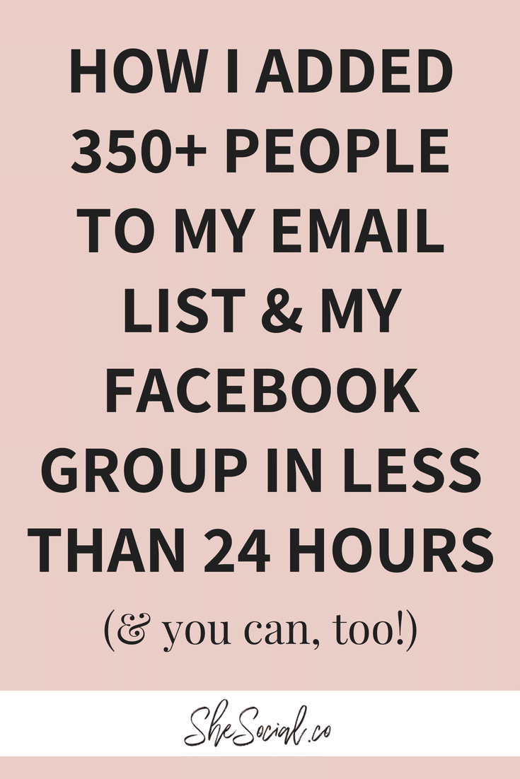 email marketing hack