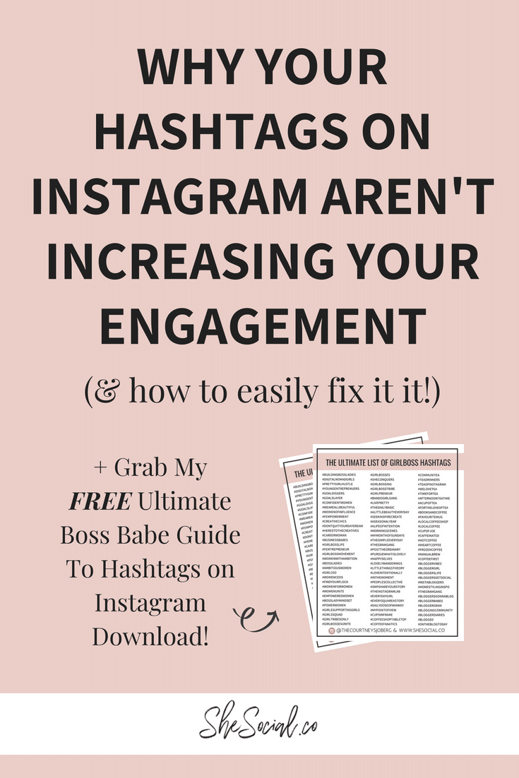 3 Reasons Your Hashtags On Instagram Aren't Increasing Your Growth And Engagement