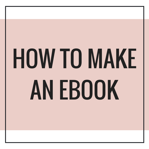 Making An Ebook On Canva