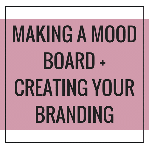 Making A Mood Board Branding